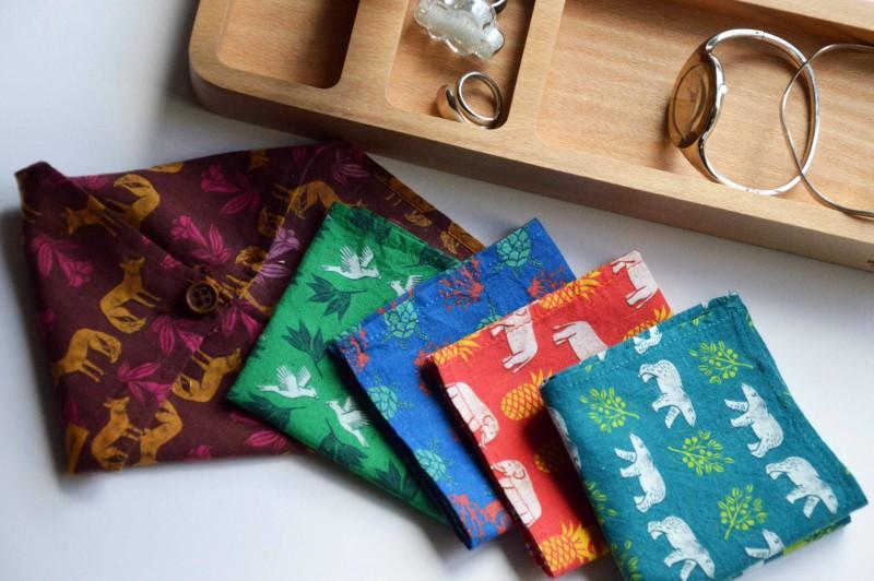mouchoirs en tissu lamazuna