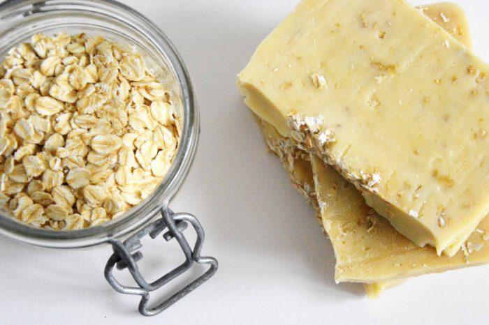 savon saponifié à froid miel avoine